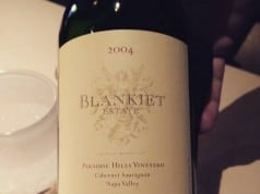 2004 Blankiet Estate Napa Valley Cabernet