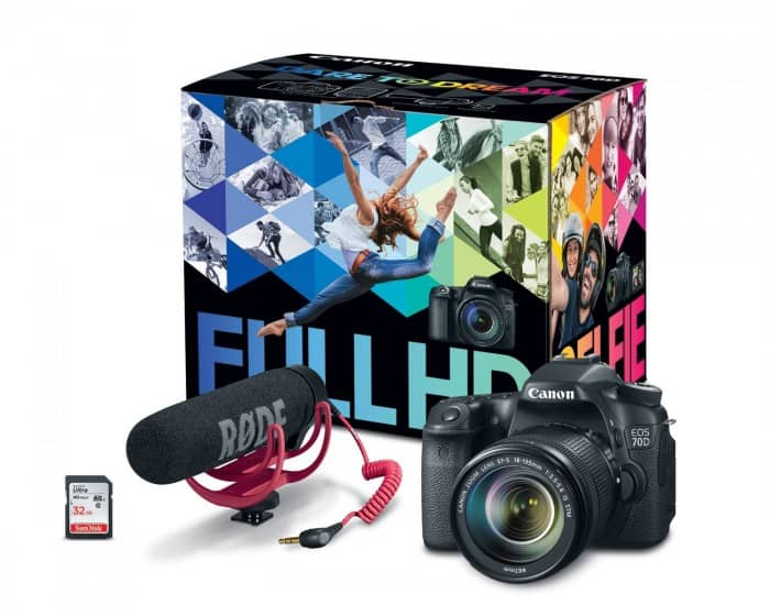Canon 70D Video Creator Kit