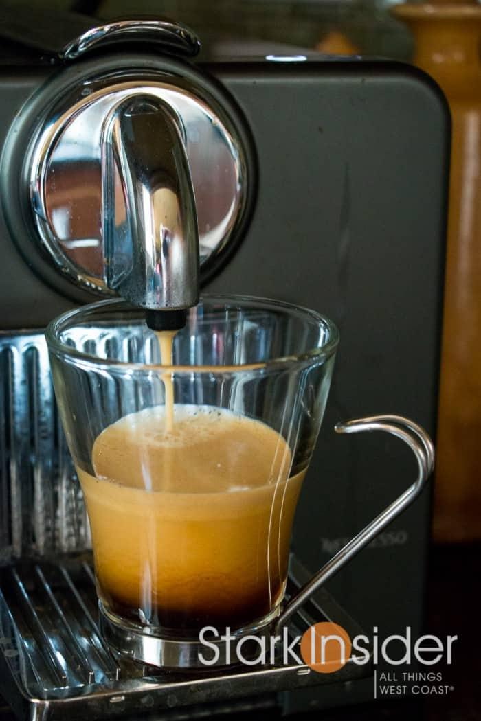 Gourmesso shot in Nespresso machine