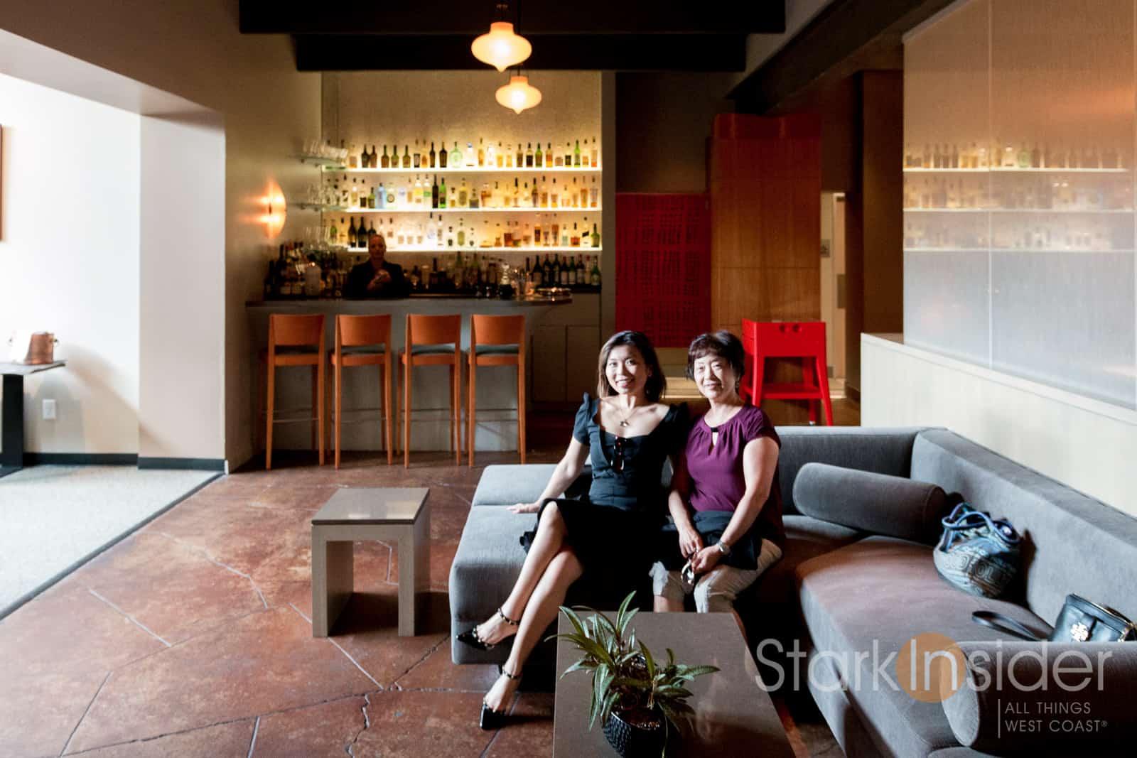 Striking A Vogue Pose In The Lounge At Manresa.