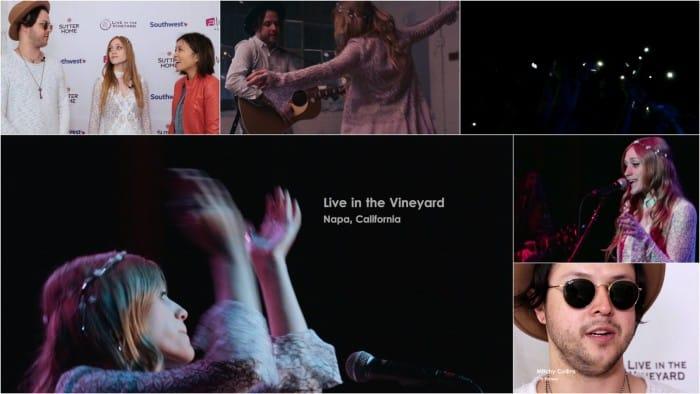 Oh Honey - Live in the Vineyard Napa