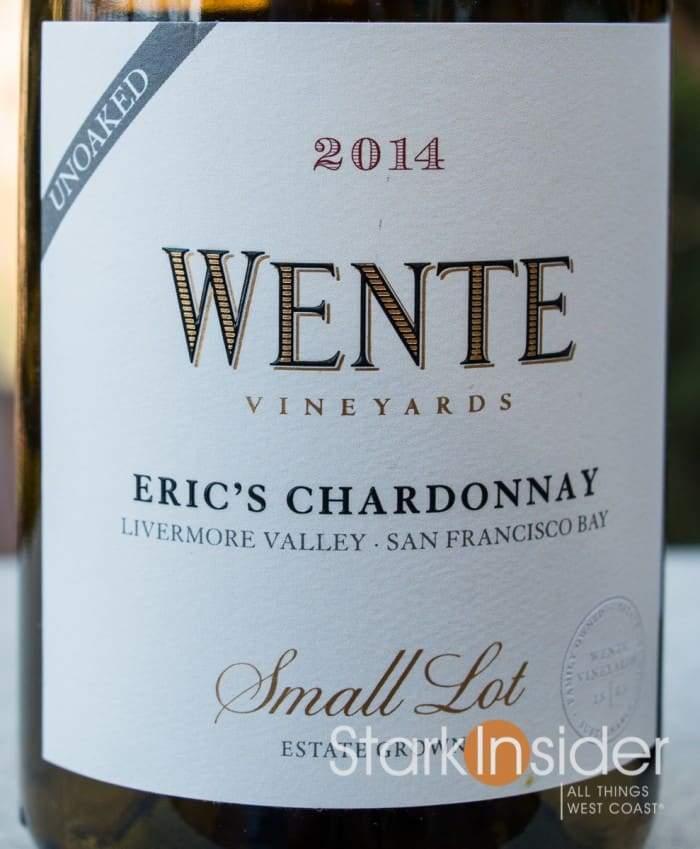 Wente Vineyards - Eric's Chardonnay 2014 Wine Review Livermore