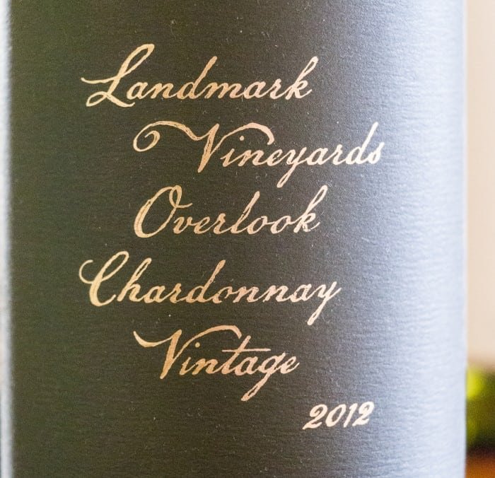 Landmark Vineyards Overlook Chardonnay Sonoma - Wine Review