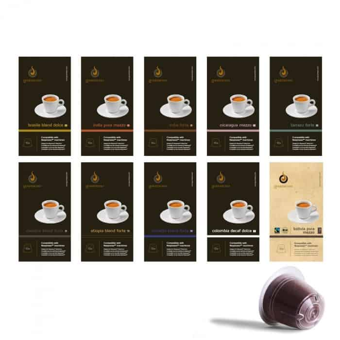 Gourmesso Coffee Pod Bundles