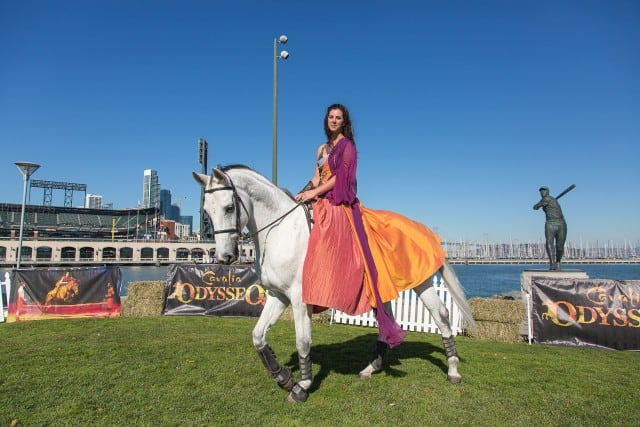Horse Arrival - Odysseo by Cavalia (AT&T Park, San Franciso)