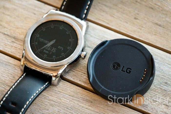 LG Watch Urbane smartwatch running Android Wear