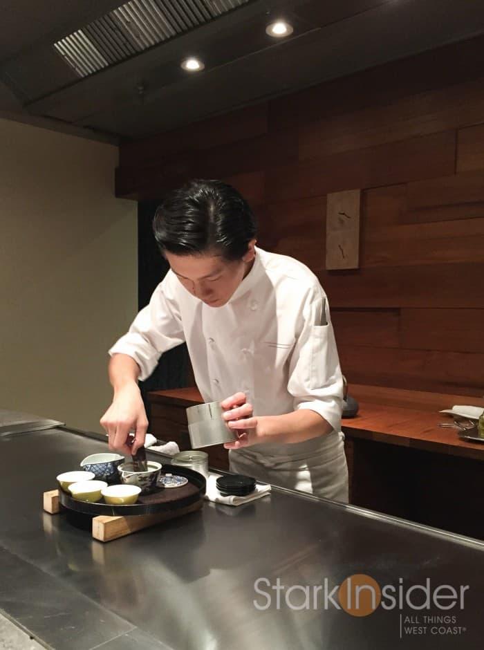 Serving of the Gyokuro Tea.