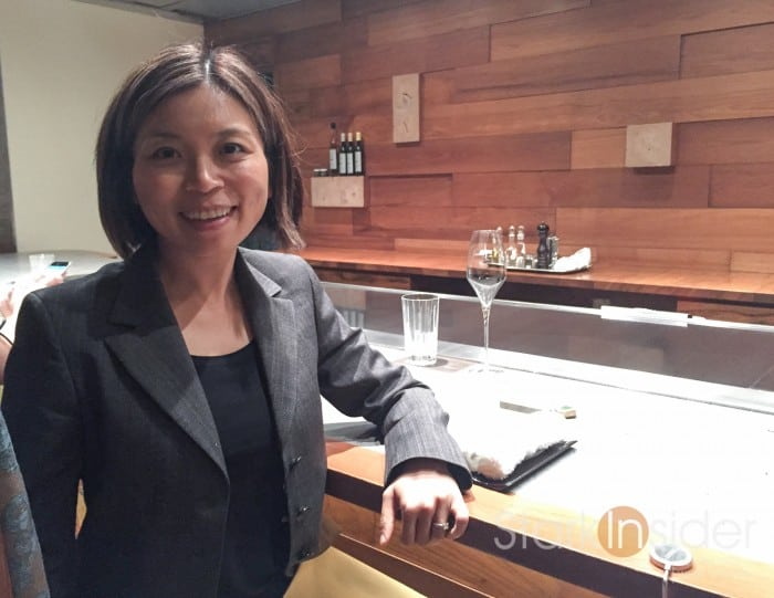 I was seated in one of three cocoon rooms. Instead of a large dining area, the 10 course tasting menu is served in these rooms that seat a maximum of about 6 people. For this evening, I was in a room with a couple from Indonesia on vacation.