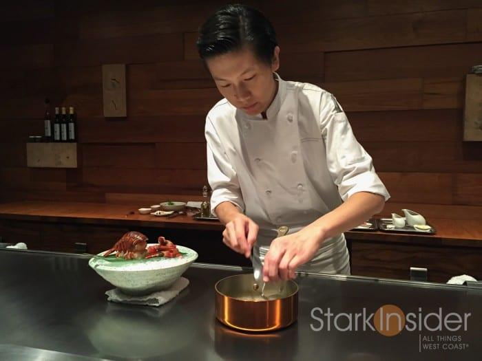 Lobster preparation - Waku Ghin