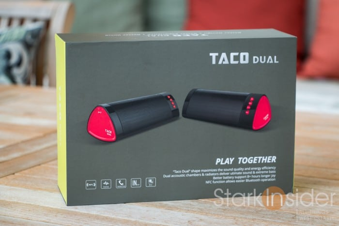 iDeaUSA Taco Dual Boombox Stereo Sound Speaker (Review)