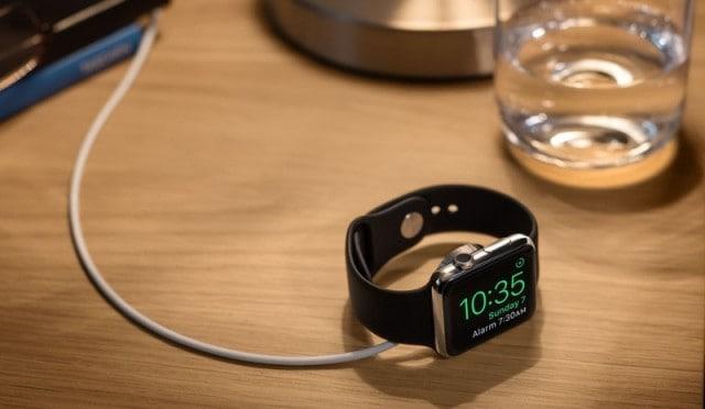 Apple WatchOS 2 - Nightstand Mode
