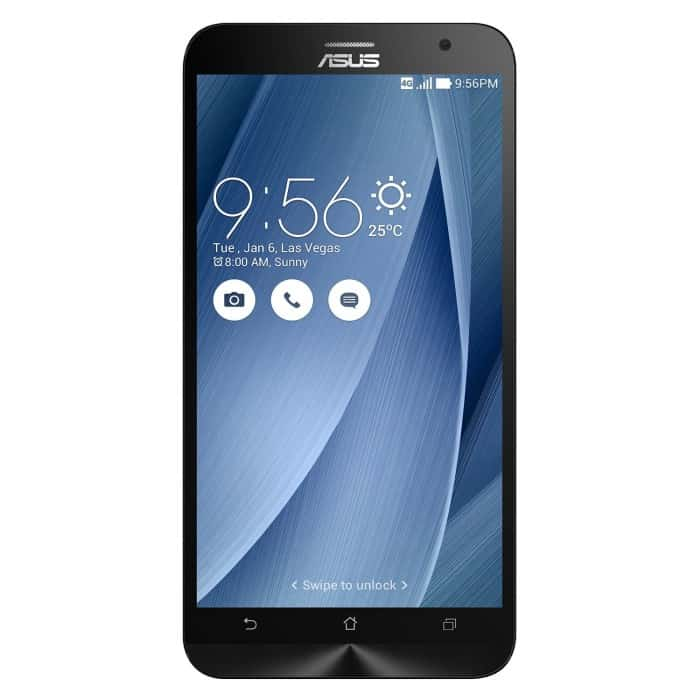 ASUS ZenFone 2 Cellphone, 16GB, Silver (Unlocked)