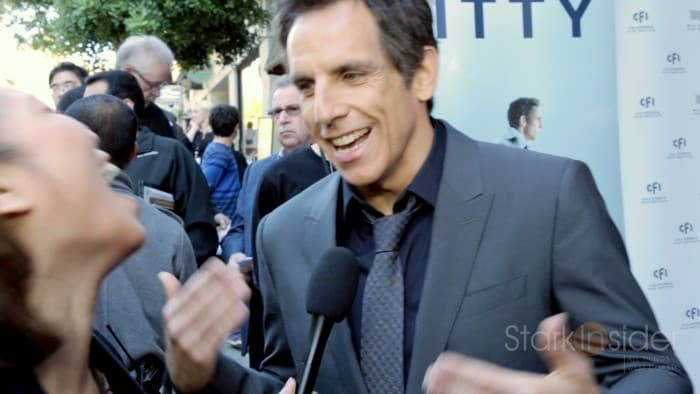 Ben Stiller with Stark Insider at the Mill Valley Film Festival