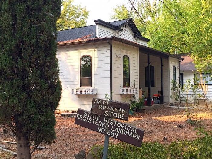 History of Calistoga - Sam Brannan Store Registered Landmark 684
