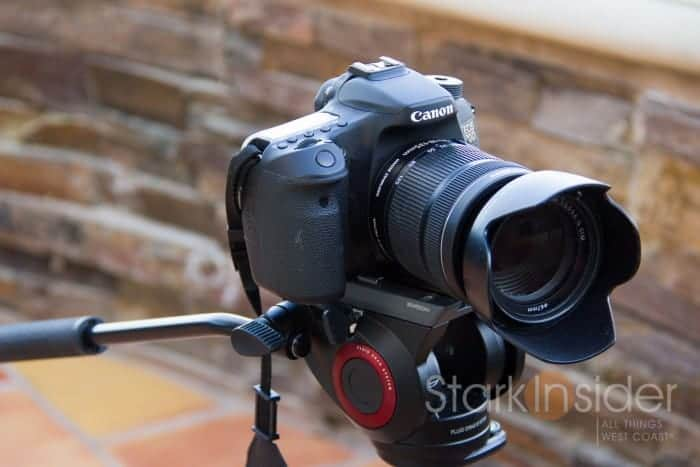 Canon 18-135mm STM Lens and EOS 70D