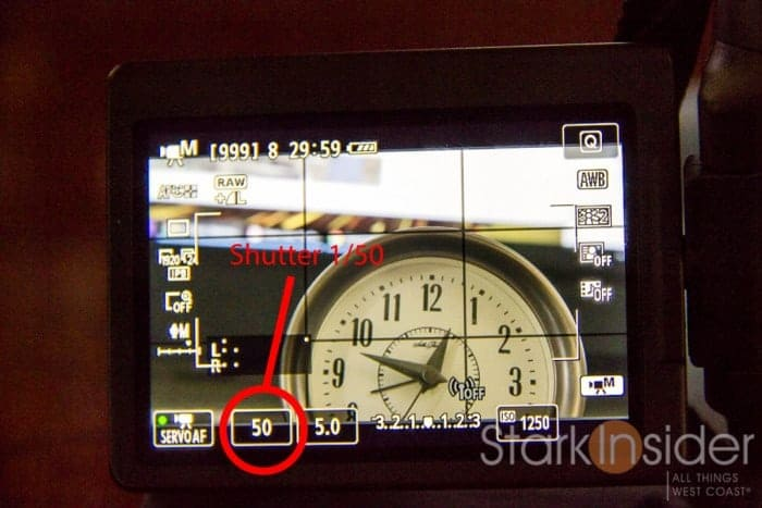 Best settings for shooting video Canon EOS 70D