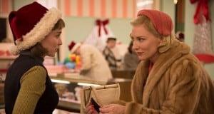 Carol starring Cate Blanchett and Rooney Mara