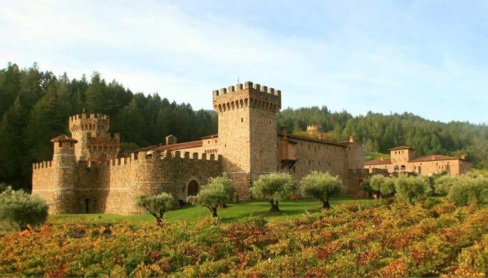Castello de Amorosa is breathtaking