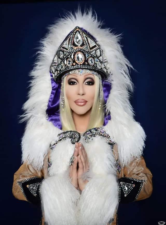 Chad Michaels as Cher - San Francisco Gay Men's Chorus