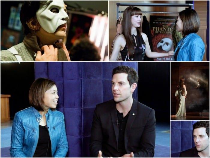 Chris Mann - Phantom of the Opera Video