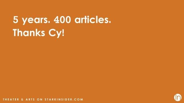 Cy Ashley Webb - Theater Critic Stark Insider