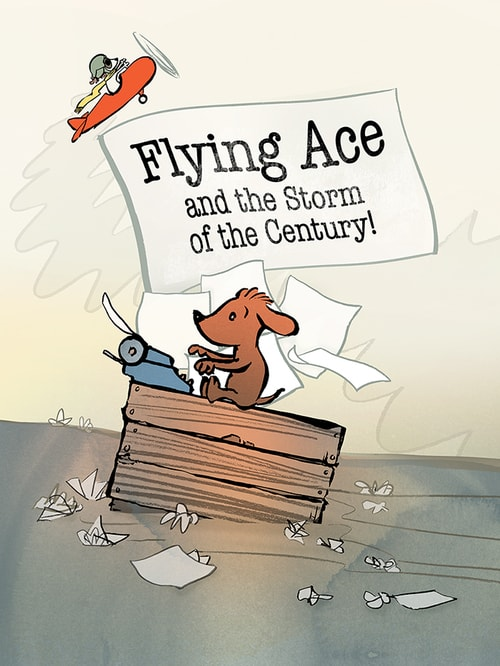 Flying Ace and the Storm of the Century