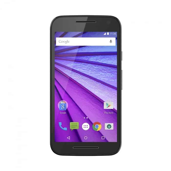 Motorola Moto G (3rd Generation) - Black - 8 GB - Global GSM Unlocked Phone