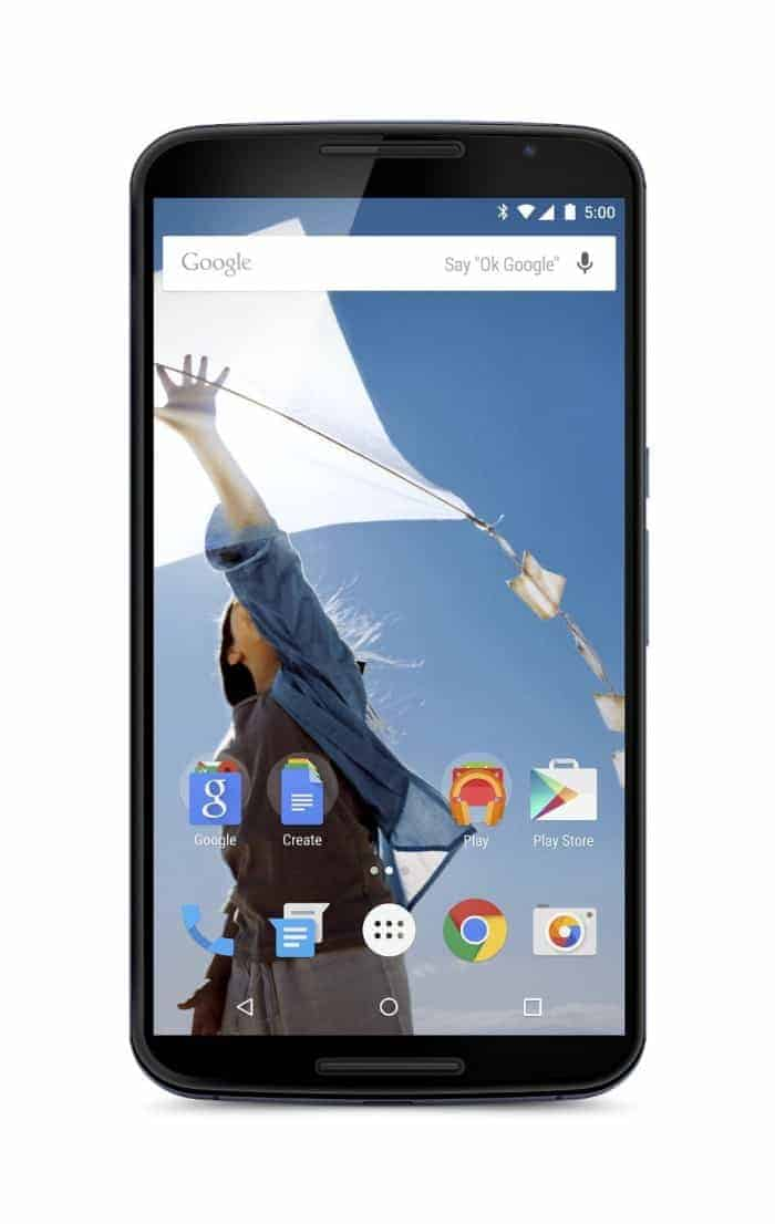 Motorola Nexus 6 Unlocked Cellphone, 32GB, Midnight Blue