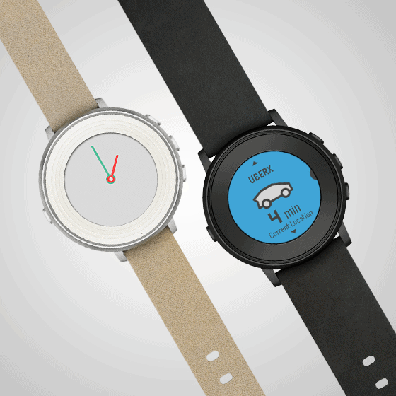 Pebble Time Round