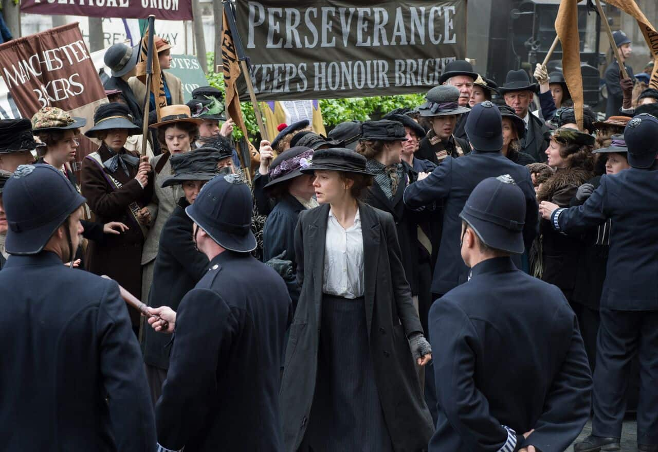 Suffragette Carey Mulligan closing night film