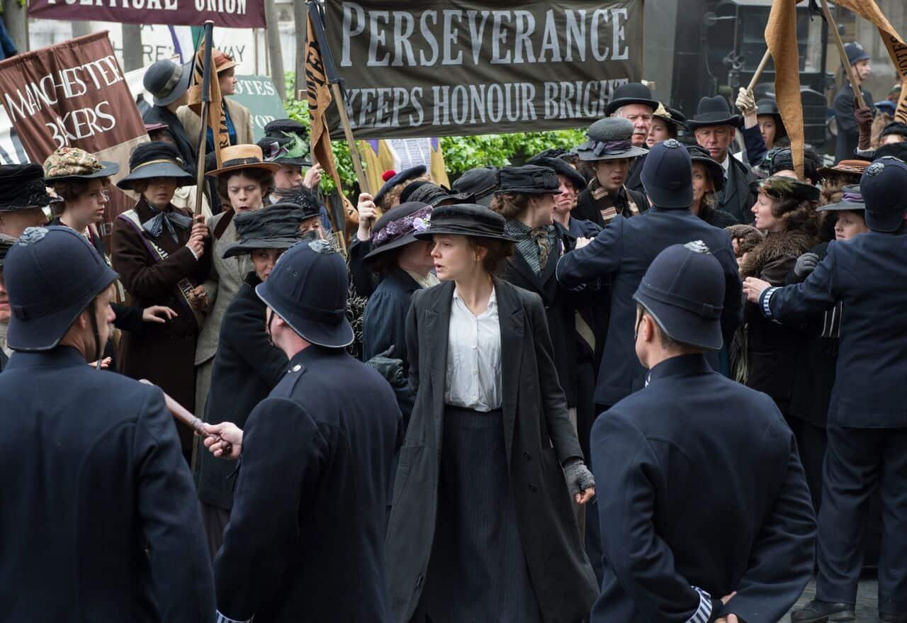 Suffragette Carey Mulligan closing night film