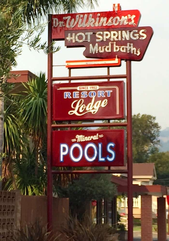 Dr. Wikinson's Hot Springs Mud Baths Resort Lodge - Calistoga, Napa Valley