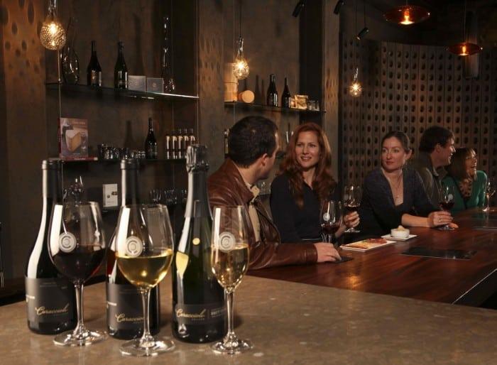 Caraccioli tasting room