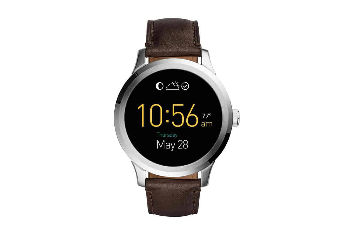 fossil gets it right prices debut smartwatches and. Black Bedroom Furniture Sets. Home Design Ideas