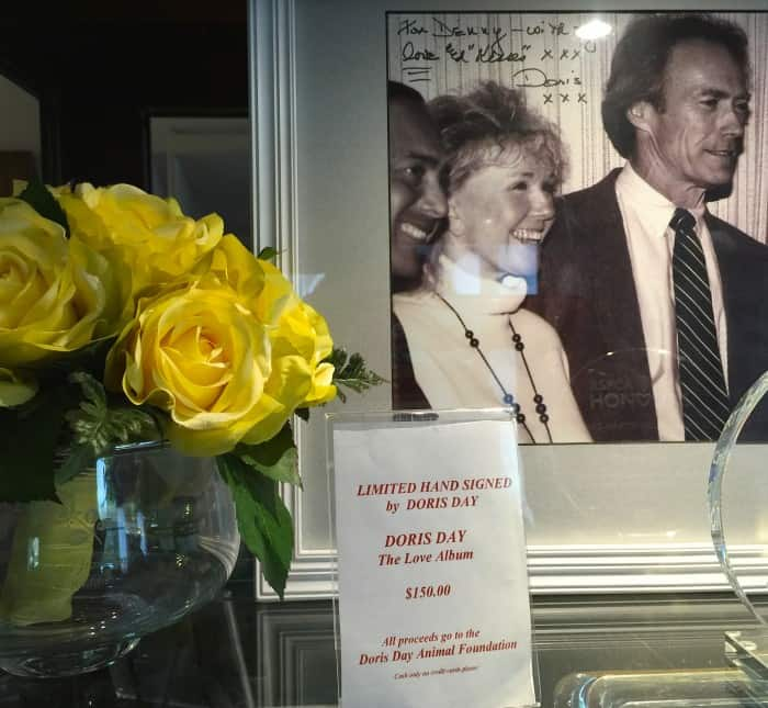 Doris and Clint Eastwood at the Cypress Inn - Carmel, California