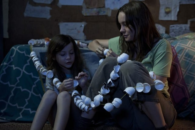Jacob Tremblay and Brie Larson in 'Room'.