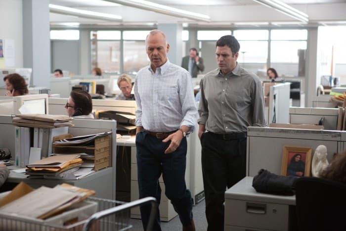 Michael Keaton and Mark Ruffalo in Spotlight (Review)