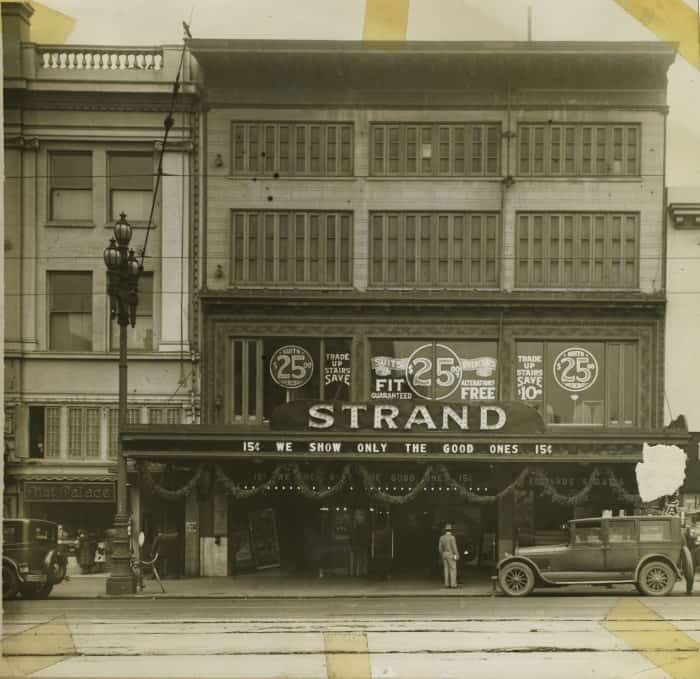 The Strand Theater history, San Francisco video