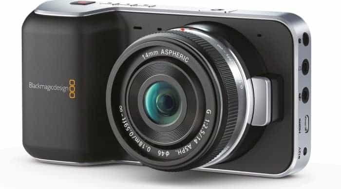 Blackmagic Pocket Cinema Camera. Perfect for filmmakers.