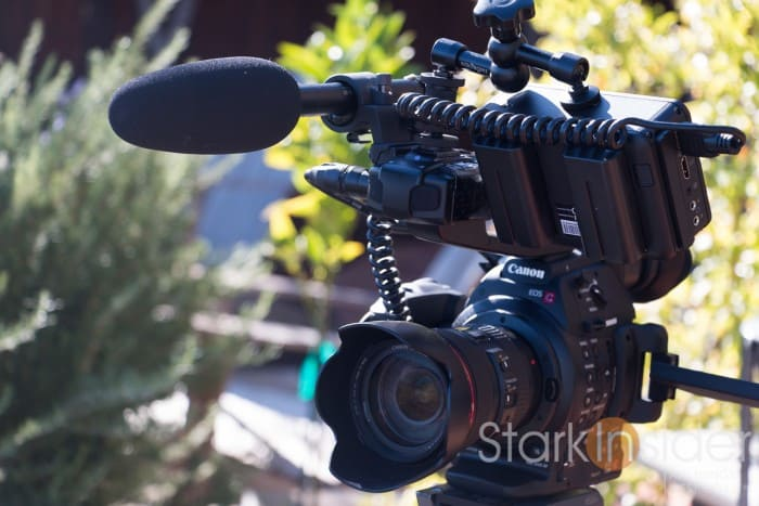 Canon C100 First Impressions