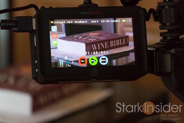 Canon C100 II with Atomos Ninja Blade monitor