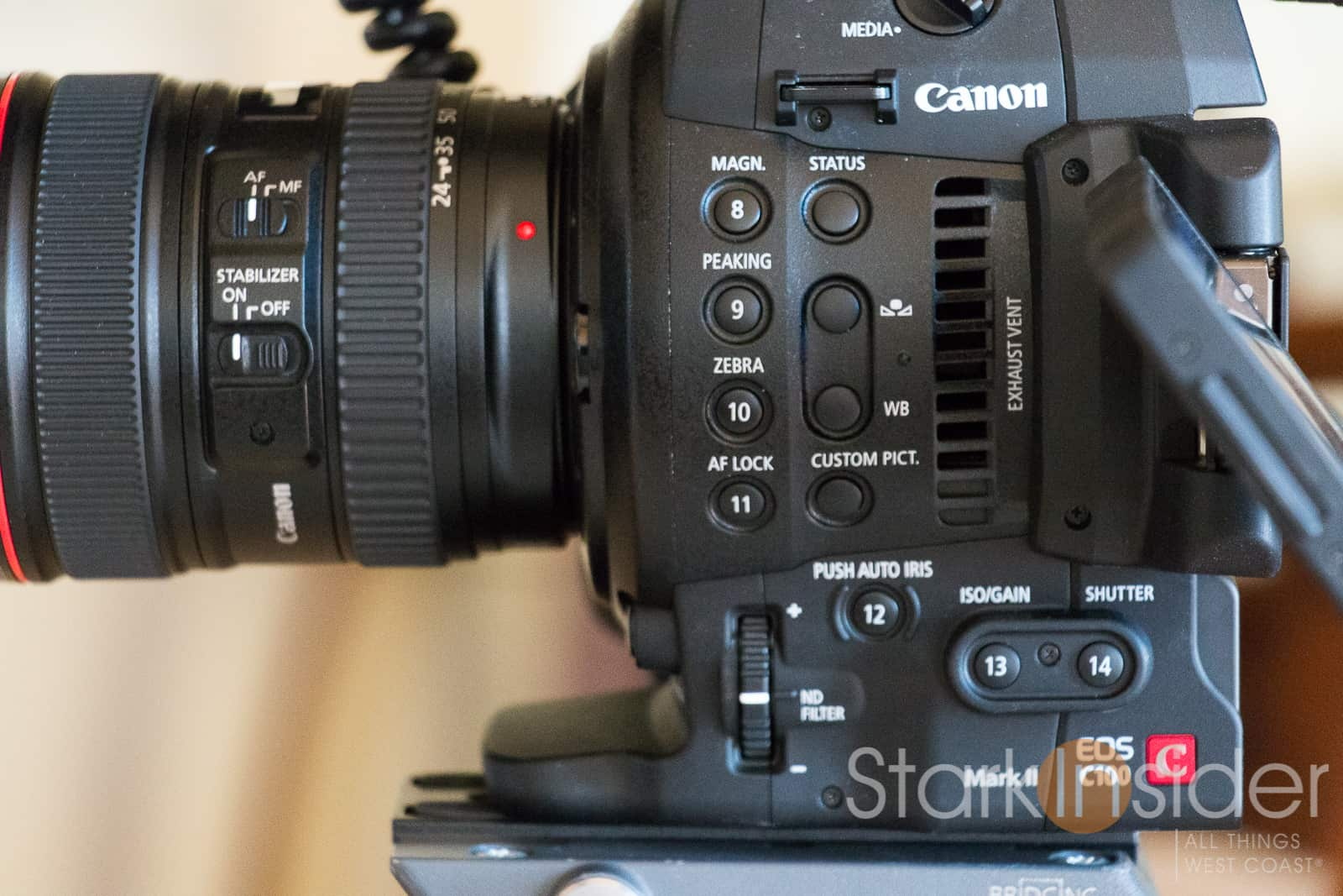 From DSLR to Super 35: Canon C100 Mk II First Impressions +