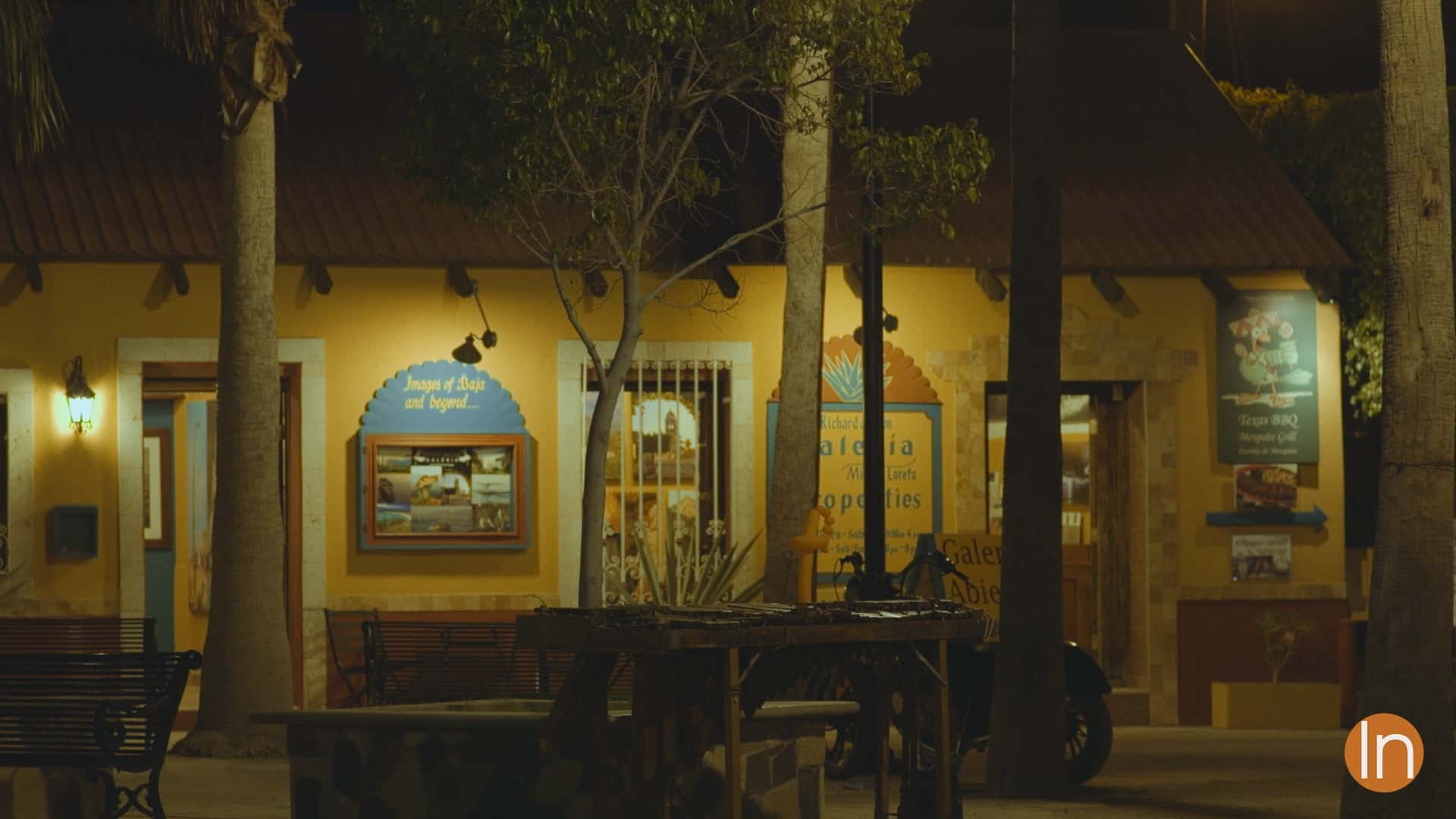 Town Square at Night - Loreto, Baja California Sur, Mexico