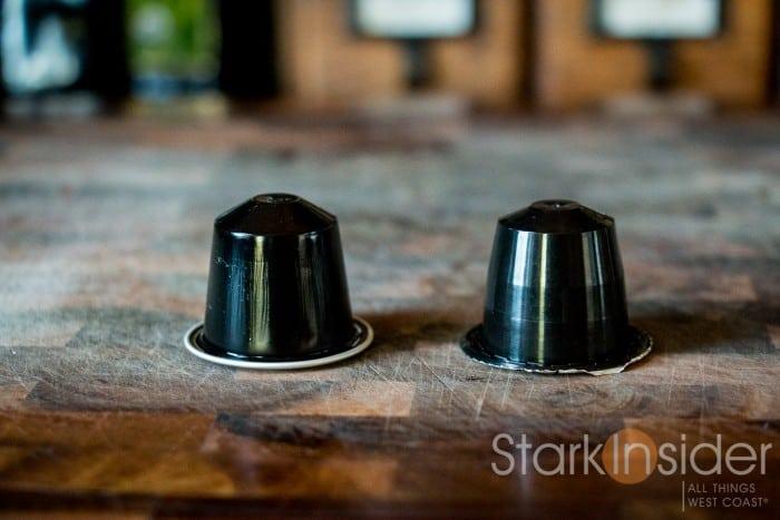 Nespresso Ristretto Capsule vs. Rosso Caffe Gentleman Capsule