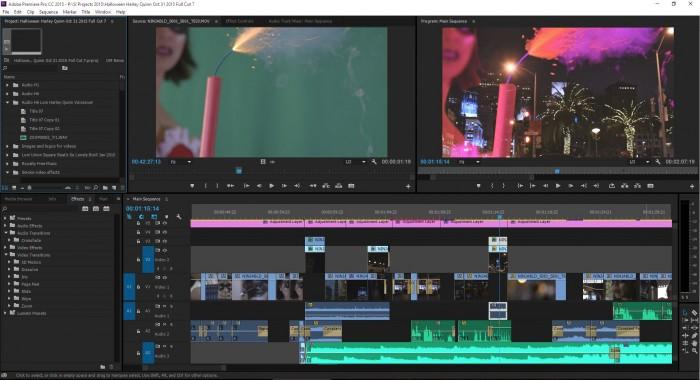 C100 Premiere Pro Edit Timeline