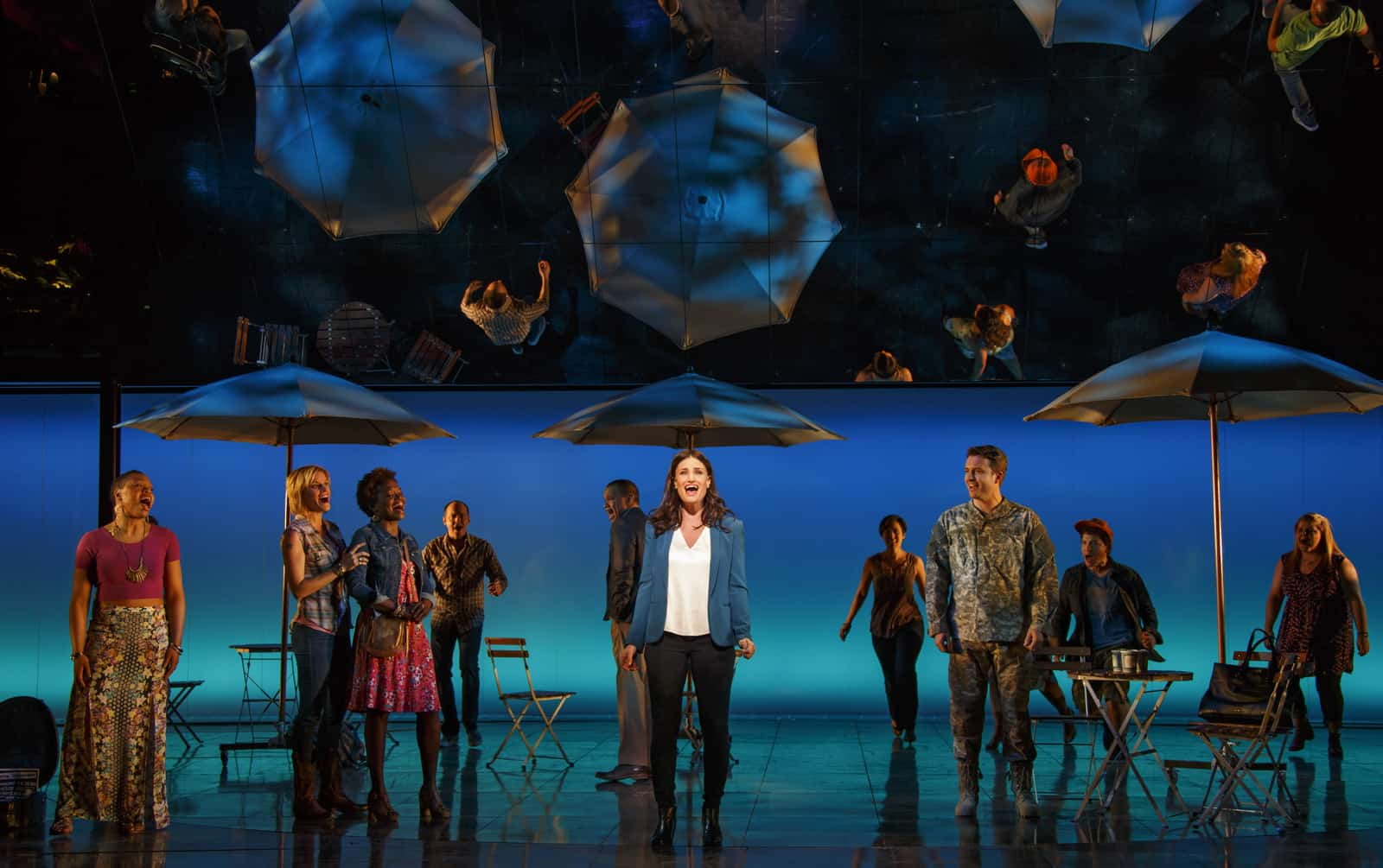 Idina Menzel and the cast of IF/THEN