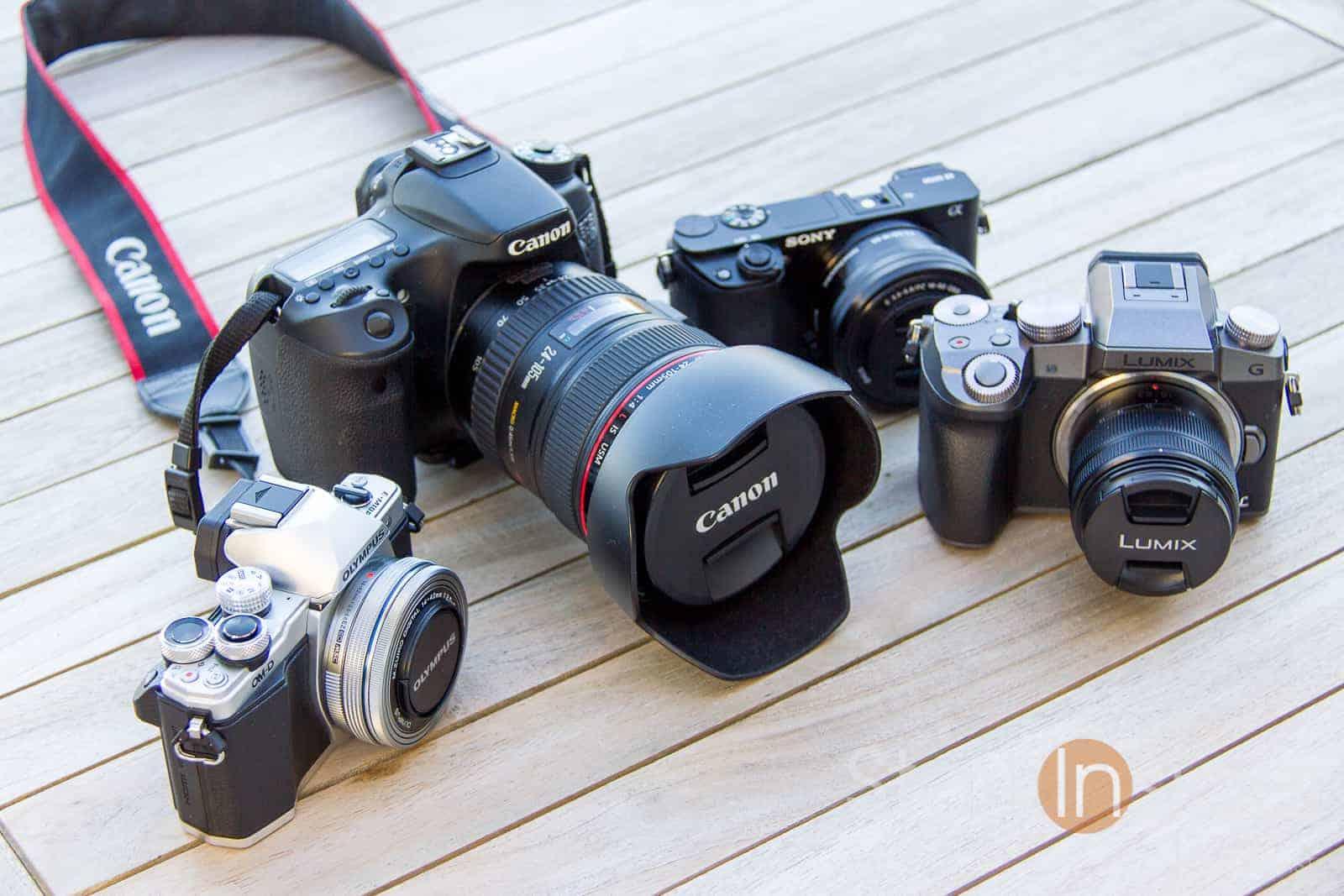 Top 3 Mirrorless Cameras