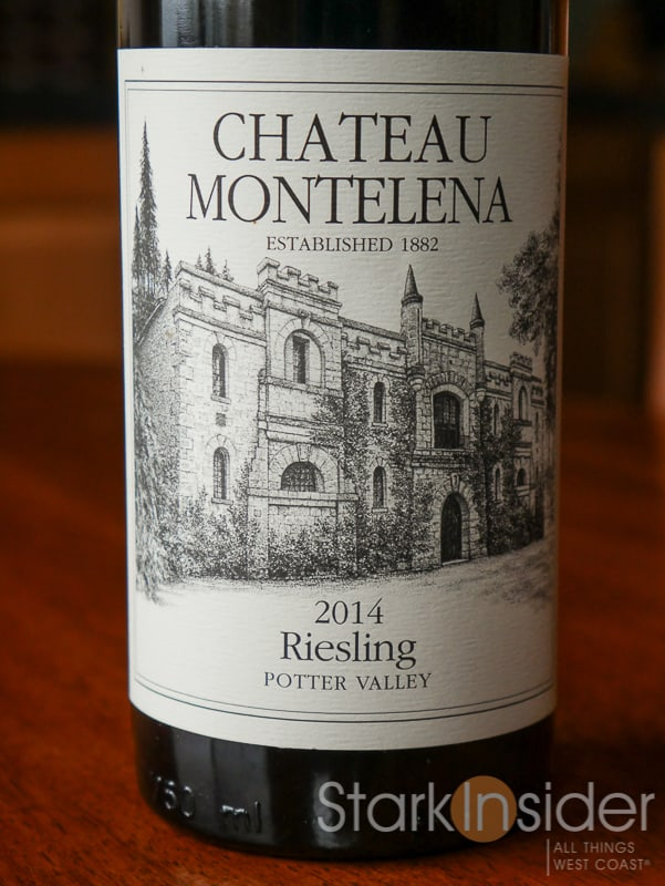 2014 Chateau Montelena Riesling (Potter Valley)