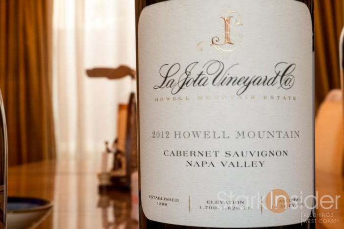 La Jota Vineyard Napa Cabernet - Chris Carpenter
