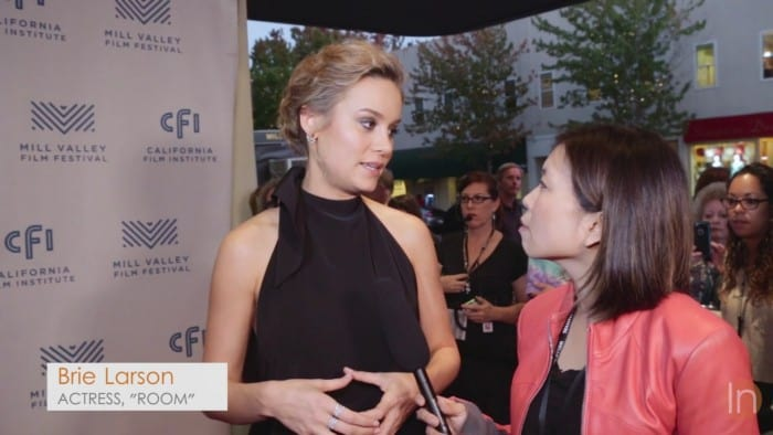 Brie Larson Golden Globe winner - Room